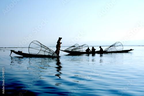 fishermen on water #2188125