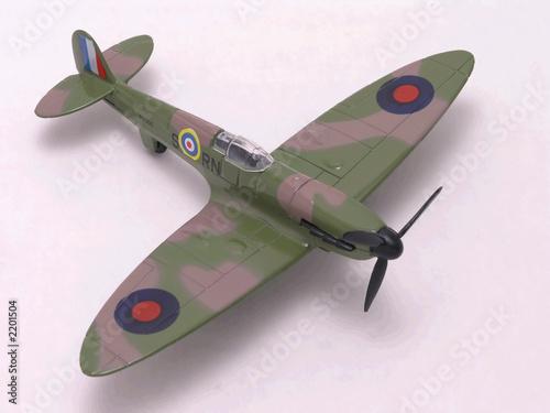 Obraz na płótnie spitfire fighter airplane