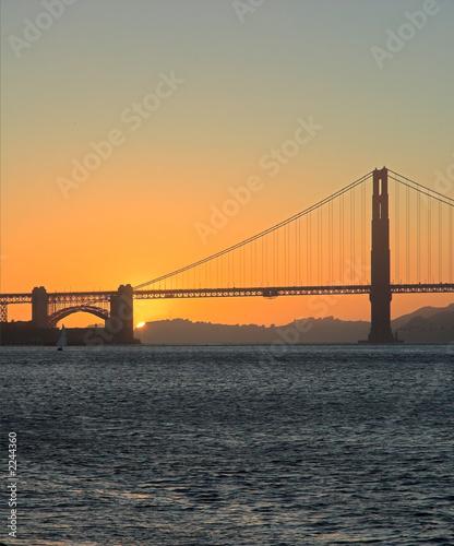 фотография golden gate bridge at sunset