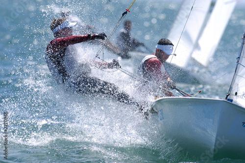 Stampa su Tela sailing man 004