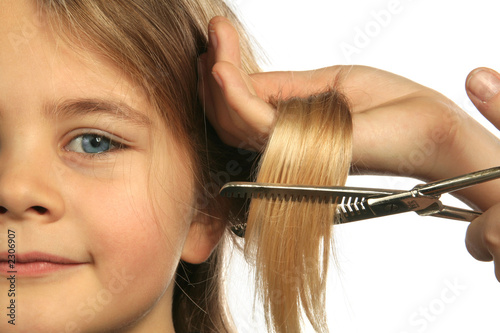 Fototapeta coupe de cheveux