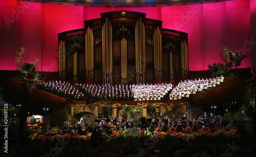 Tela tabernacle choir (red)
