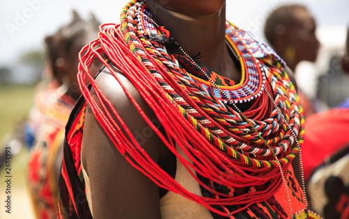 Photo african jewellery