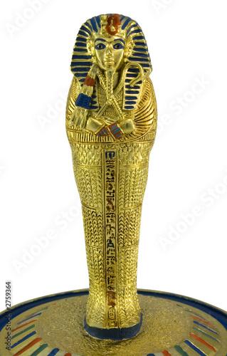 Fotografia tutankhamun's royal sarcophagus