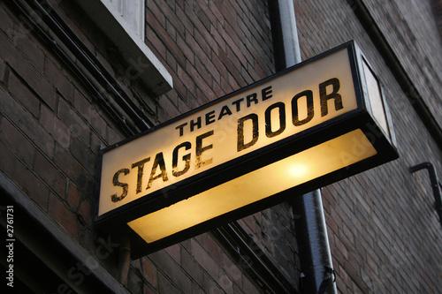 Photo stage door