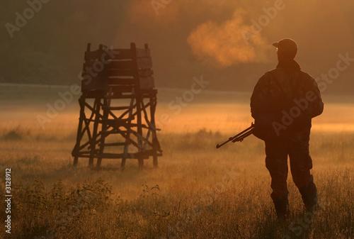Obraz na płótnie hunter