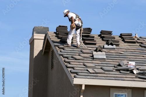 Obraz na płótnie roofing