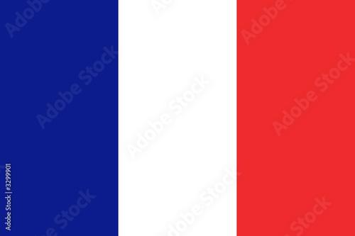 Obraz na płótnie drapeau france