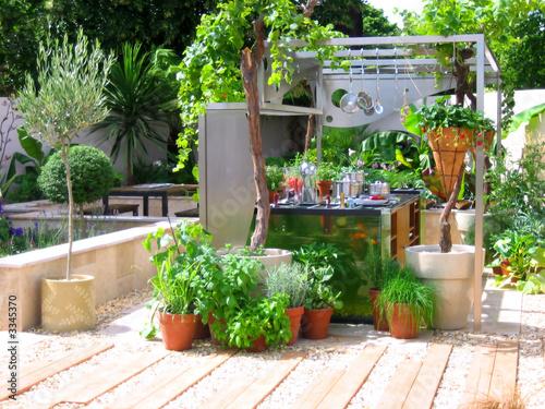 Fotografia outdoor kitchen