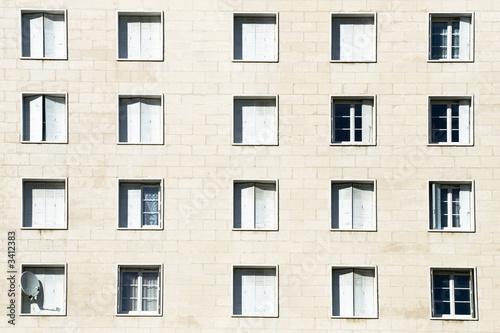 Valokuvatapetti façade d'immeuble