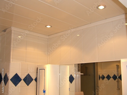Fotografia plafond salle de bain