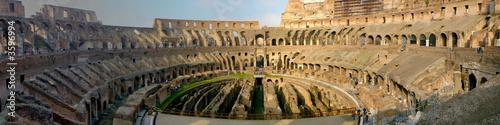 Fotografia Panaramic view of the roman coliseum