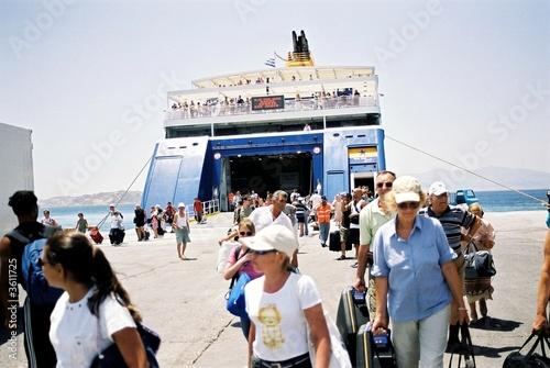 Valokuvatapetti ferry