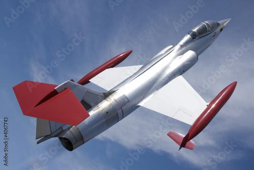 Canvas Print Jet Fighter