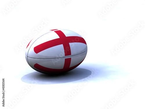 Fototapeta Ballon Rugby Angleterre