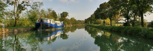 Obraz na płótnie panorama du canal