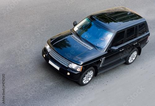 Платно luxury  british suv isolated part of luxury cars series