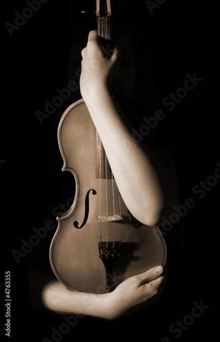 old violin #4763355