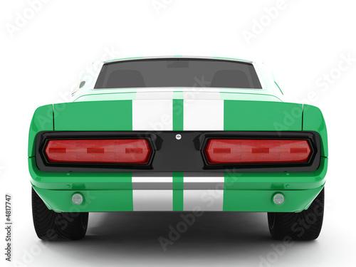 фотография Green Classical Sports Car
