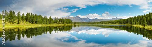 Canvas Print Mountain lake