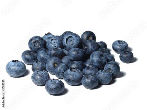 Beeren / Blaubeeren Fototapet