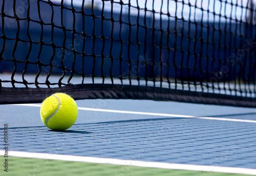 Wallpaper Mural Tennis ball on the court