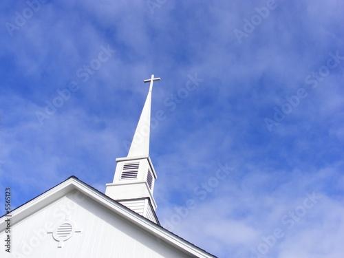Wallpaper Mural Church Steeple