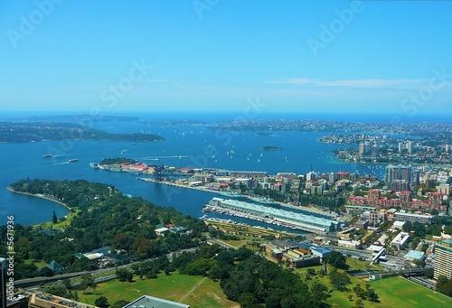 canvas print motiv - steffenw : Sydney - Bucht von oben