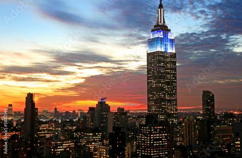 Photo New York City midtown skyline