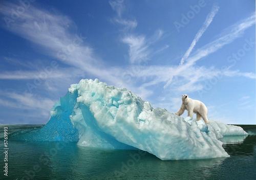Fototapeta fonte des glaces