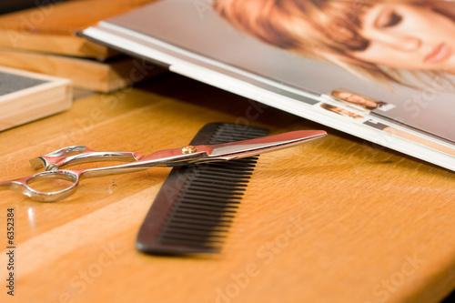 Coupe coiffeur Fototapeta