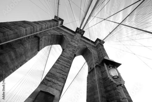 Brooklyn Bridge Wide Angle 3 Fototapeta