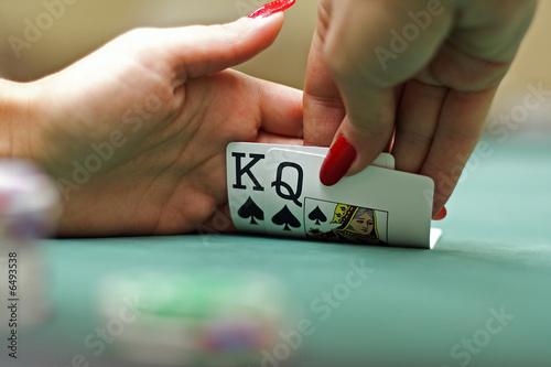 Fotografia Cards in hands