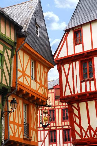 Medieval Vannes, France Fototapet
