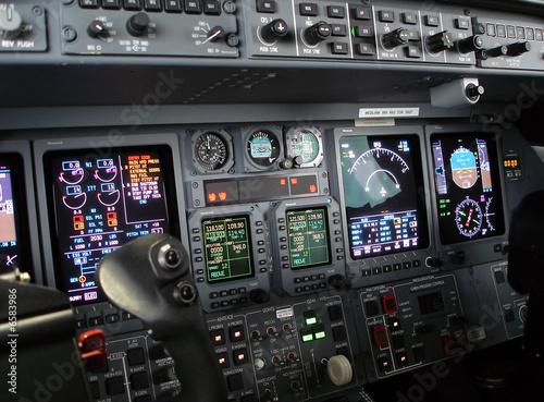 Fotografering Flight Deck