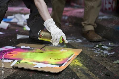 Stampa su Tela Graffiti