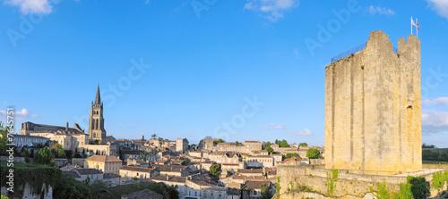 Fotografia panoramique de saint emilion