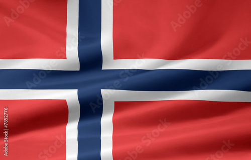Wallpaper Mural Norwegische Flagge