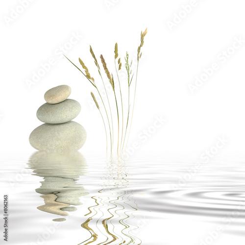 Canvas Print Zen Peace