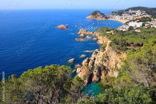 Fotografía Tossa de Mar cliffs (Costa Brava, Spain)