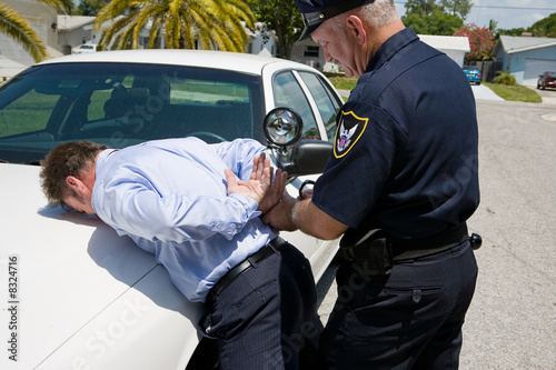 Under Arrest Fototapeta