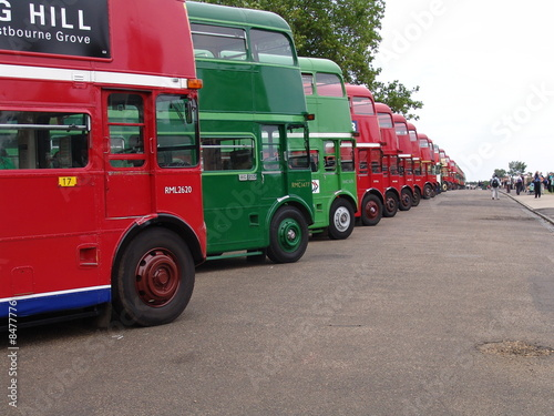 Canvas Print Routemasters London