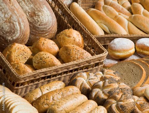 Obraz na płótnie Assortment of bakery goods