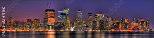 Lower Manhattan in HDR #8754937