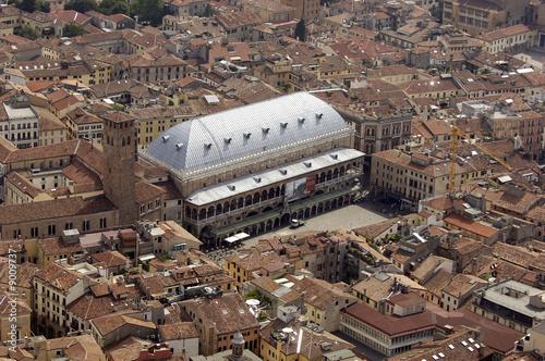 Obraz na plátně Panorama di Padova