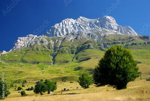 Fototapeta Gran Sasso: Corno Piccolo 2 (2665 mt )