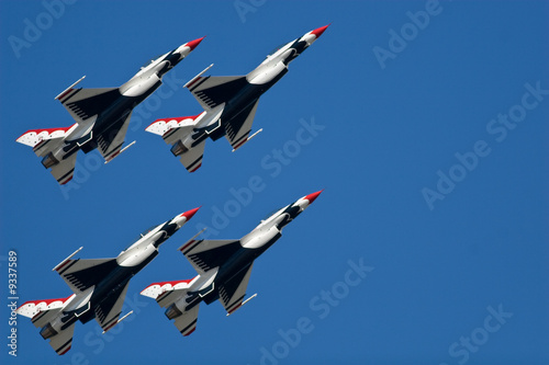 Canvas Print USAF Thunderbirds