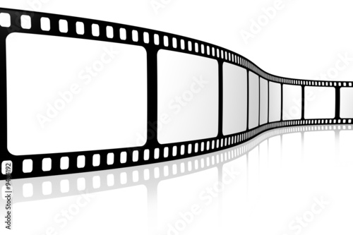 Blank film strip #9434192
