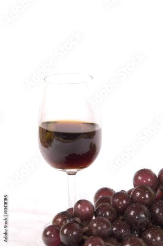 Canvas Print wine glass