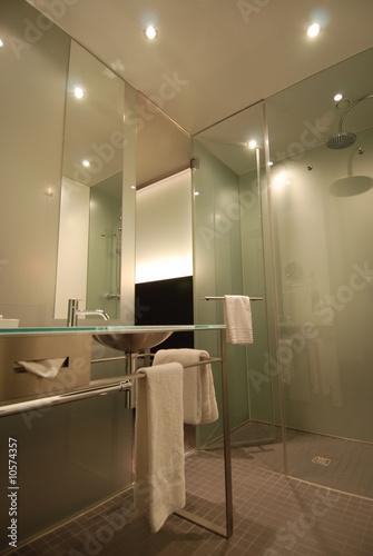 salle de bain design Fotobehang